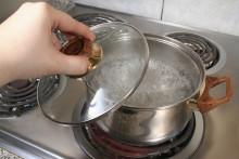Koka vattnet i Billinge och Stockamöllan