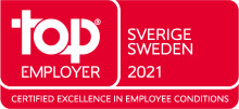 TCS får utmärkelsen Top Employer i Sverige