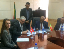The Danish Energy Agency and The Government of Ethiopia sign the Implementing Partnership Arrangement