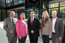 Internationale Unterstützung durch Santander Select