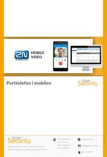 Porttelefon i mobilen