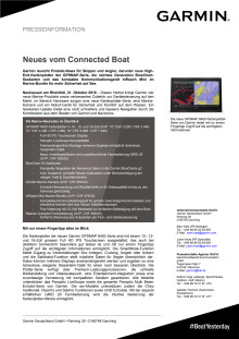 Neues vom Connected Boat