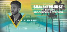 CALVIN HARRIS TILL SUMMERBURST I STOCKHOLM