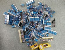 Man arrested and drugs, cash and suspected illegal cigarettes seized following stop check of car in Huyton