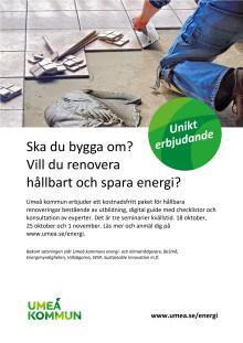 Renovera hållbart