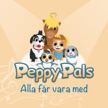 """Ny Peppy Pals EP """"Alla får vara med"""" ute nu - lär barn om känslor och vänskap"""