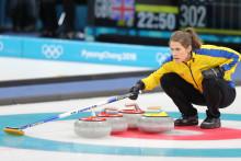 Curling: VM-premiär för lag Hasselborg idag lördag