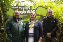 Mid & East Antrim sees red as new squirrels make coastal country park home