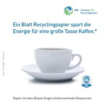 burgbad stellt auf Recyclingpapier mit dem Blauen Engel um