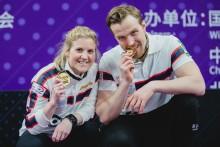 Magnus og Kristin vinner tidenes først worldcup finale i curling.
