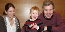 Hugos familj vann HSB-tävlingen om ett års gratis boende!