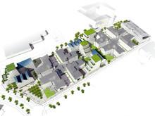 Nya varierande kontorsbyggnader vid Edison park