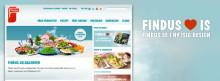"""Findus.se får ny """"fryst"""" design"""