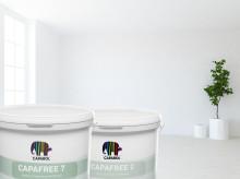 Konserveringsmedelsfri vägg- och takfärg för bättre arbetsmiljö