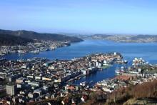 Norges første for offshoreskip - landstrømanlegg på plass i Bergen havn