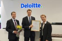 Deloitte - Årets Revisionsbyrå 2012