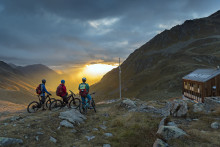 Mit Mountainbike und Wadenpower zur Panoramahütte