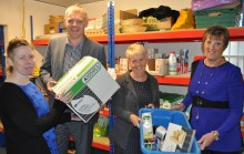 Council and catering suppliers team up for foodbank boost