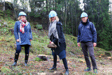 Første spadetak for ny boligtype i Oslo kommune