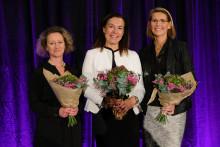 Eva Elmstedt vann Women's Board Award