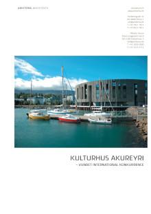 Kulturhus Akureyri - Fakta