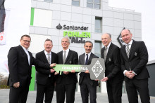 Borussia eröffnet neuen Santander FohlenStall