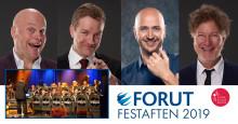 FORUT festaften med Terje Sporsem, Jonas Rønning, Østre Toten Storband m. fl.