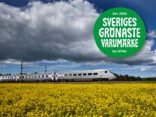 SJ – Sveriges Grönaste Varumärke
