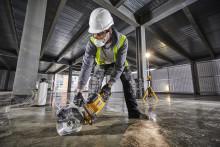 VÄRDLDSPREMIÄR - Dewalt lanserar betongkap med nya superbatteriet 54V