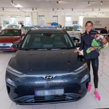 Amalie Iuel blir nullutslippsambassadør for Hyundai