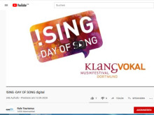 !SING Digital – tausende Aufrufe des digitalen DAY OF SONG auf YouTube