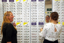 Focus on 'silent thief of sight' during official optician launch in Aylesford