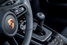 Porsche 911 Carrera S med manuell växellåda