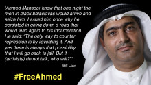 "Frightening precedent for UAE population - Lawyer imprisoned for 10 years for ""defaming the government"" over civil rights discussions."