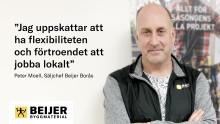 Vad är det som gör att du trivs så bra i din roll som säljchef på Beijer?