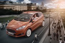Fiesta mest solgte småbilmodell i Europa, Ford nest mest solgte personbilmerke.