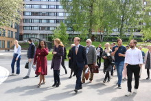 Nye uteområder på Kringsjå Studentby skal gjøre det enkelt å bli kjent med naboen