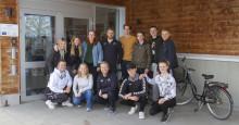 Nya curling- och handbollselever till Härnösand