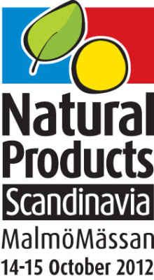 Natural Products Scandinavia på Malmömässan 14 - 15 oktober 2012