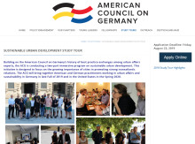 American Council on Germany: Sustainable Urban Development Study Tour
