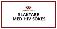 Ny kampanj: Med hiv sökes