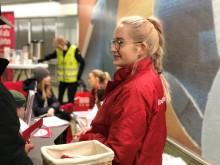 Samarbete med Blodcentralen för att få fler blodgivare i Stockholm