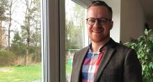 Johannes Hellsing är ny arbetschef på Wästbygg