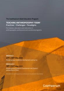 Goetheanum Adult Education Program Flyer