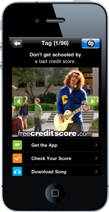 Shazam and freecreditscore.com Team Up to Provide People Instant Access to Their Credit Scores