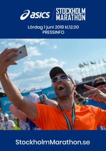 Pressinfo ASICS Stockholm Marathon 2019