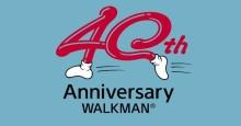 Легендарному плееру Walkman® исполняется 40 лет.