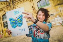 Kunstkraftwerk Leipzig lässt die Glücksfalter fliegen: Gemeinsam die Kurve flattern