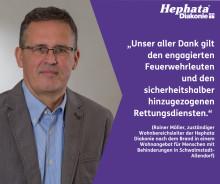 Brand in Hephata-Wohngruppe: Keine Verletzen, hoher Sachschaden