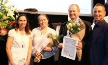Brf Pyramiden i Malmö utsedd till Årets Hållbarhetsförening 2018